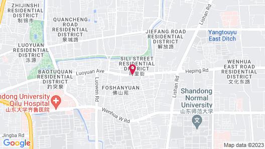 Sofitel Jinan Silver Plaza Map