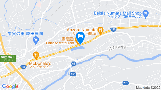Family Lodge Hatagoya Numata Map