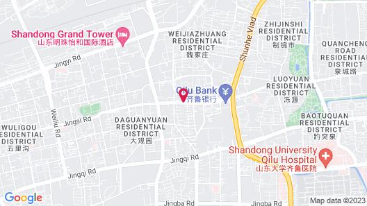 Hyatt Regency Jinan Map
