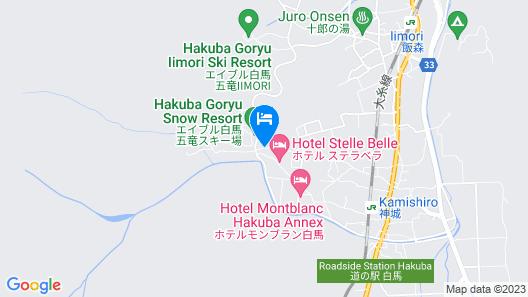 PENSION ALPS HAKUBA Map
