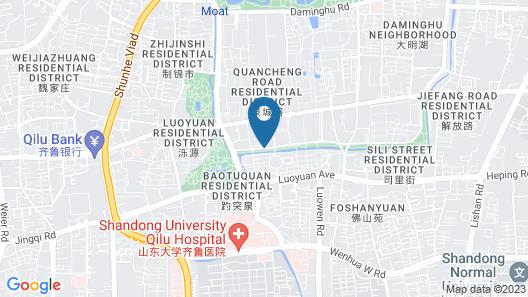 InterContinental Jinan City Center, an IHG Hotel Map