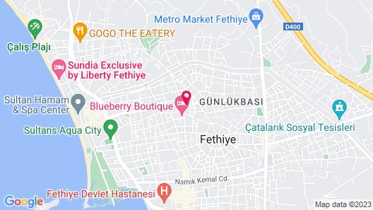 Babzen Butik Otel Map