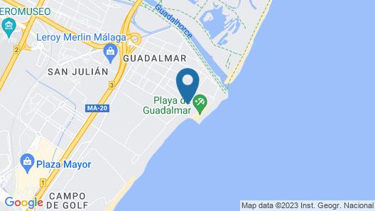 Sol Guadalmar Hotel Map