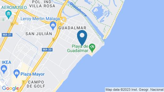 La Casita de Riomar Map