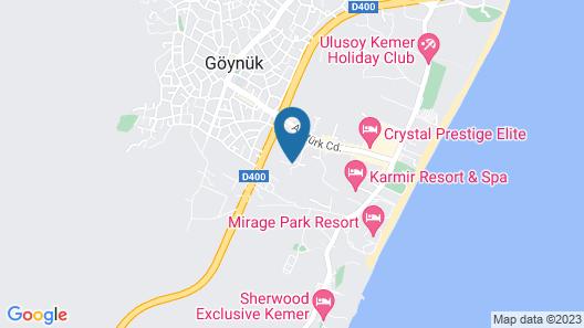 Monna Roza Garden Resort Hotel - All Inclusive Map