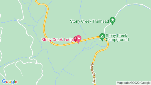 Stony Creek Lodge Map