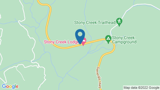 Stony Creek Lodge Map