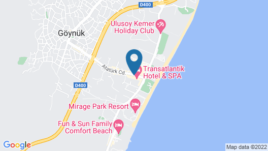 Transatlantik Hotel & Spa - All Inclusive Map