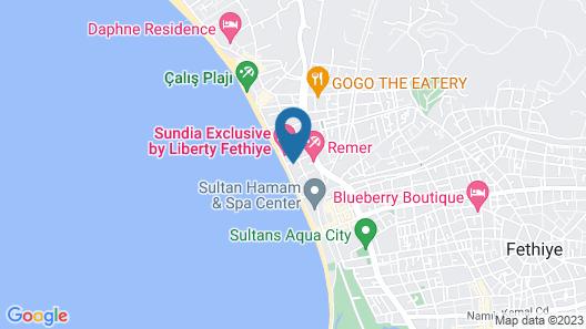 Gunes Hotel Fethiye Map