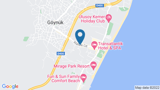 Dosinia Luxury Resort - All Inclusive Map