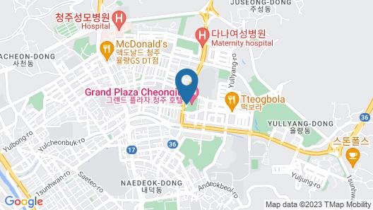 Grand Plaza Cheongju Map