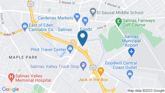 Best 5 Motel Map
