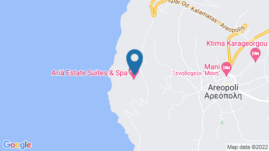 Ariá Estate Suites & Spa Map