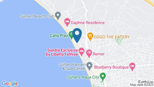 Butik Villas - 3 Bedroom Map