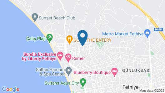 Lighthouse Nadia Aparts Map