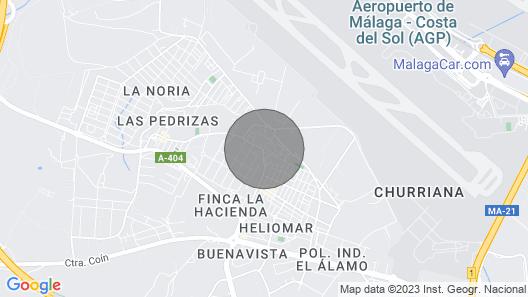 B&b, Kaksinkertaiset Ikkunat, Mukavuus Lähellä Málagan Lentokenttää , Wifi, Max. 4 Yötä Map