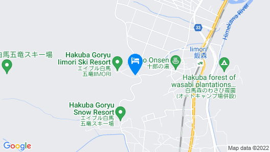 Hakuba Sun Valley Hotel Annex Map