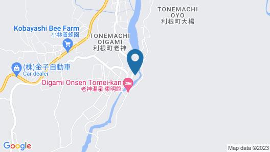 Itoen Hotel Oze Oigami Sanraku Map