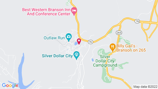 Best Western Branson Inn And Conference Center Map