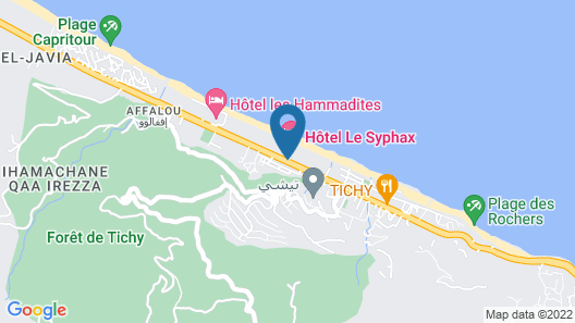 Hotel Syphax Map