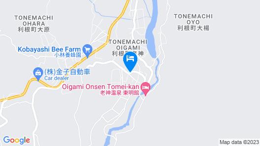Shisuitei Map