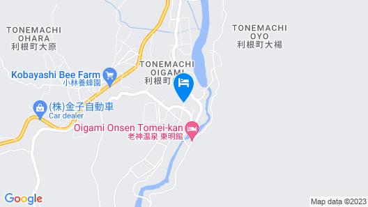 Ginshotei Awashima Map