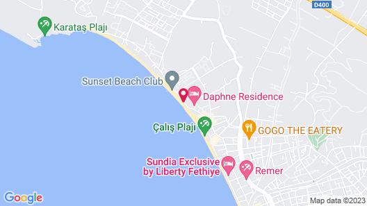 Jiva Beach Resort - All Inclusive Map