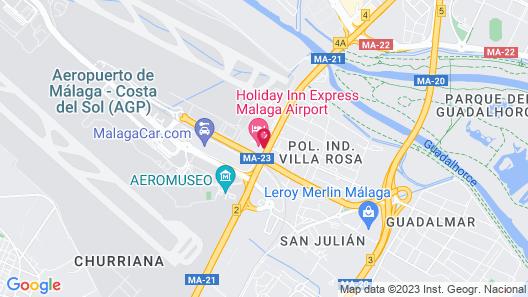 Holiday Inn Express Malaga Airport Map