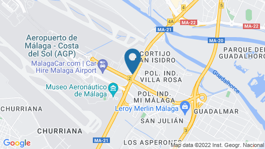 Holiday Inn Express Malaga Airport Map