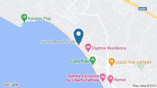 Sunset Beach Club Villas Map