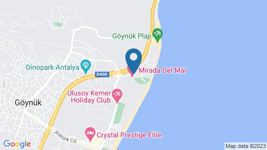 Amara Luxury Resort Map