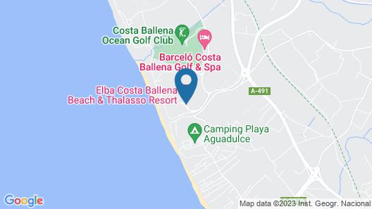 Elba Costa Ballena Beach & Thalasso Resort Map