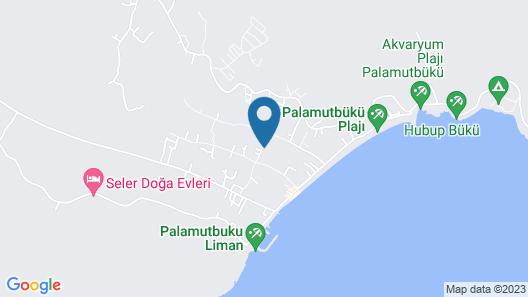 Palamutbükü Deniz Apart Otel Map