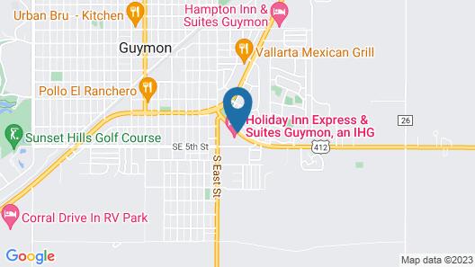 Holiday Inn Express Hotel & Suites GUYMON, an IHG Hotel Map