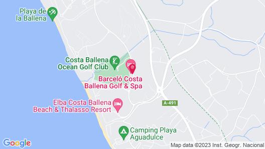 Barceló Costa Ballena Golf & Spa Map