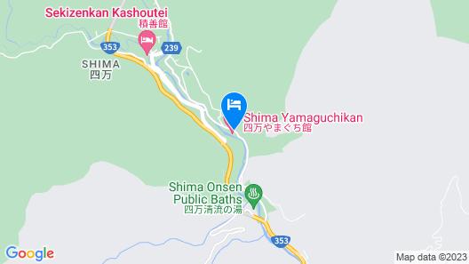 Shima Yamaguchikan Map