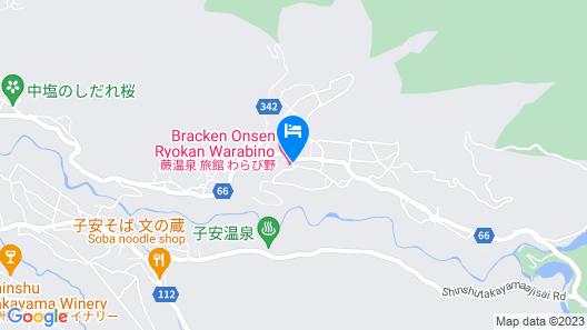 Ryokan Warabino Map