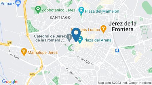 Palacio del Virrey Laserna Map