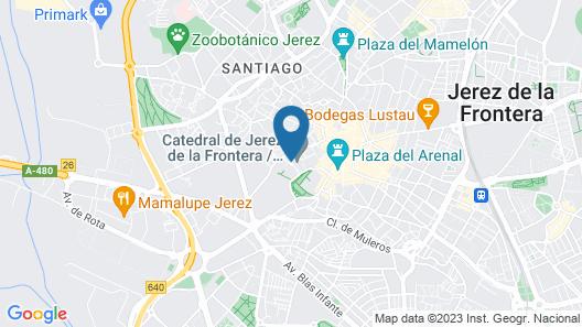 Hotel Bodega Tío Pepe Map