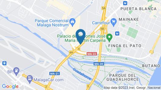 Hotel Campanile Málaga Aeropuerto Map