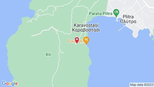 Princess Kyniska Suites Map