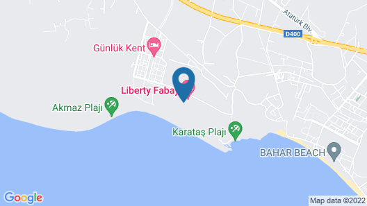 Liberty Fabay - All Inclusive  Map