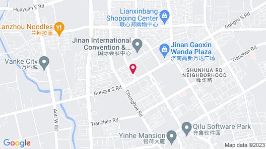 Holiday Inn Express Jinan Exhibition Center, an IHG Hotel Map
