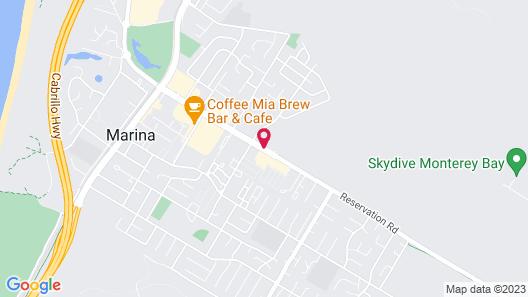 Ramada by Wyndham Marina Map