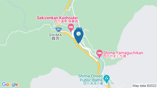 Ayameya Ryokan Map