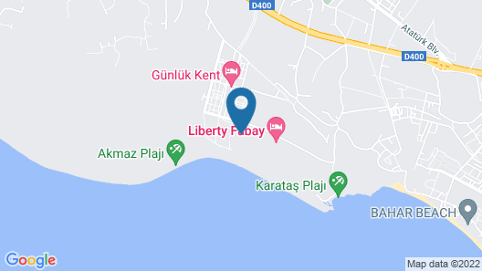 The Residence at Tui Sensatori Barut Fethiye - All Inclusive - Adults Only Map