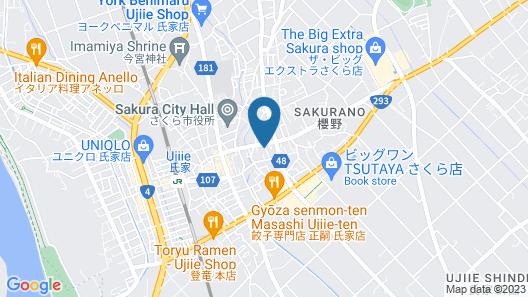 Hotel Sunhill Map