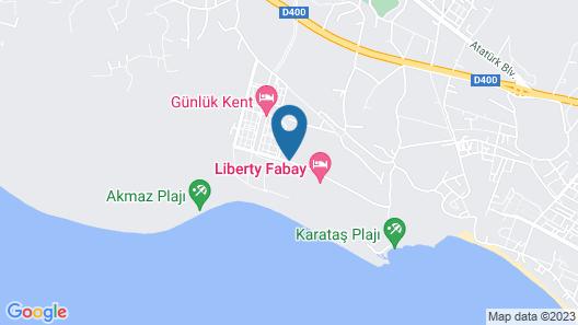 Tui  Sensatori Resort Barut Fethiye - All Inclusive Map