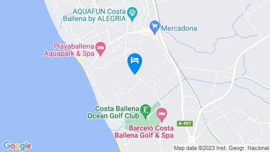 Costa Ballena-Hoyo 11 Map