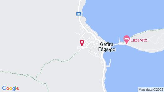 Monemvasia Village Map
